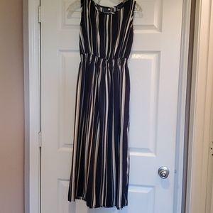Stiped midi dress